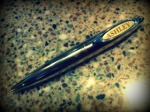 This pen was given to me for Christmas from some very special children in my life and may one day be hlepful in keeping notes as I write my first book.