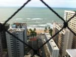 The view of Boa Viagem Beach from our apartment.