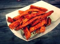 BBQ Sweet Potato Fries (The Blaxican).
