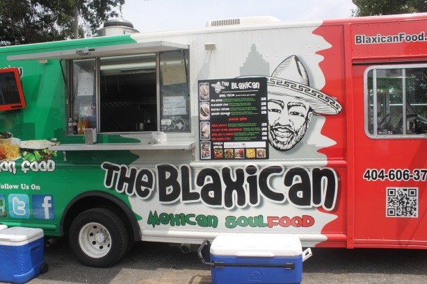 The Blaxican Food Truck was a popular stop for many.