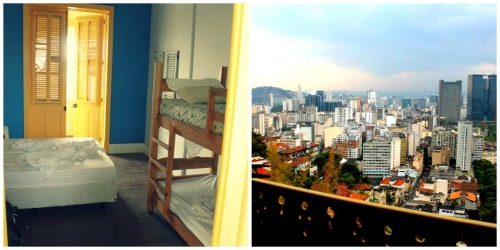 The Terra Brasilla Hostel in Rio de Janeiro offered a clean, safe and affordable place to stay with a view that was worth every penny.