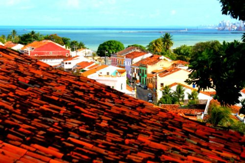 The city of Olinda.