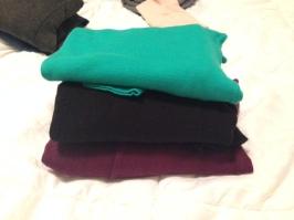 Three Sweaters