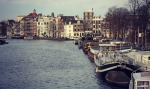 Because of its many canals Amsterdam is  known as the 'Venice of the North'.