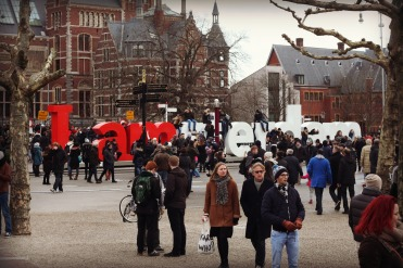 Museumplein is home to 3 popular museums: the Rijksmuseum, Van Gogh Museum, and Stedelijk Museum