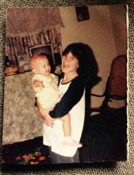 Me as a baby. My parents were teenagers and we didn't have much of anything but damn was I lucky to be born in the United States of America through no fault of my own. Pure luck.