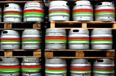 Kegs at Carlow Brewing