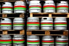 Kegs at Carlow Brewing