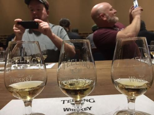 Teeling Whiskey Tasting and Photo Ops.